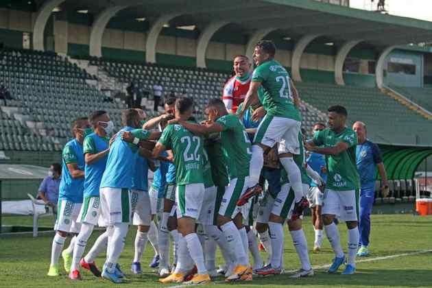 O Guarani também já foi rebaixado para a Série A2 do Campeonato Paulista, mas está na elite do estadual desde 2019.