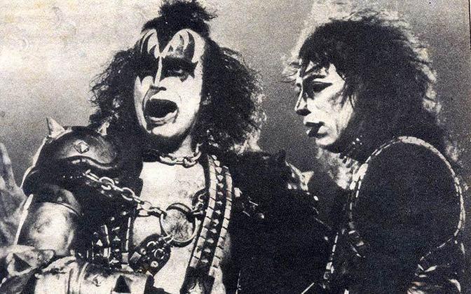 O heavy metal entrou em campo no Maracanã em 18 de junho de 1983. Com a turnê