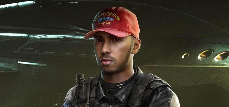 O multicampeão também foi convocado para participar do jogo Call of Duty: Infinite Warfare, mas como um personagem não jogável.