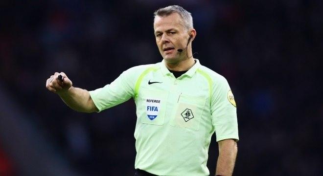 O holandês Björn Kuipers será o árbitro de Brasil x Costa Rica