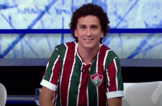 O humorista Rafael Portugal conta com 3,6 milhões de seguidores em seu Instagram e é torcedor do Fluminense.