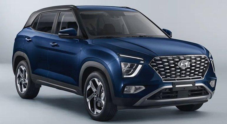 O Hyundai Creta do ano que vem tem um modelo promissor:  faróis principais e de neblina, além de  luzes de rodagem nas partes dianteiras e traseiras do carro. O veículo deve custar uns R$ 80 mil.