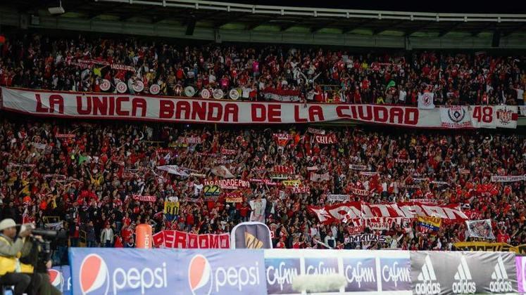 O Independiente Santa Fe é m ais um colombiano que nunca foi rebaixado.