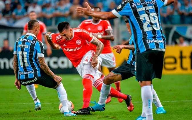 O INTERNACIONAL abre a lista de clubes que encerraram 2019 no vermelho. A equipe gaúcha contabilizou um déficit de R$ 3 milhões.