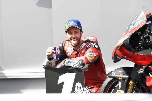 O italiano entregou a 50ª vitória da Ducati