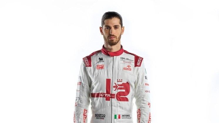 O italiano espera conquistar o primeiro pódio da carreira, e da Alfa Romeo, na temporada 2021
