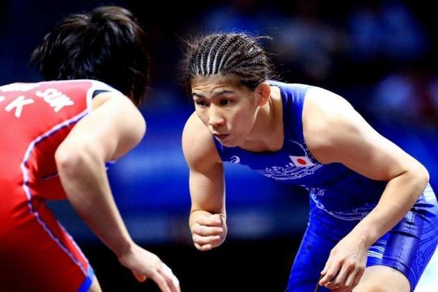 O Japão, que será sede dos Jogos em 2020 com a sua capital Tóquio, detém 429 medalhas na história. Na foto, a lutadora Saori Yoshida, tricampeã olímpica (2004, 2008 e 2012). No Rio, foi prata.
