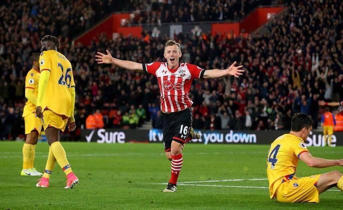 O jogador do Southampton, Ward-Prowse, foi tirado da lista de convocação da Seleção da Inglaterra após uma lesão diagnosticada na partida contra o Newscastle, pela Premier League.