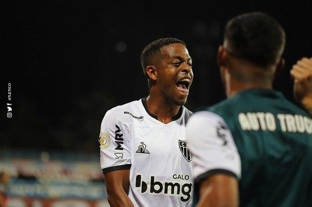 O jogador, que chegou no Galo nesta temporada, é o artilheiro do clube no Brasileiro, com oito gols marcados.