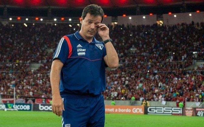 O jogo marcou a estreia do técnico Fernando Diniz no comando do São Paulo.