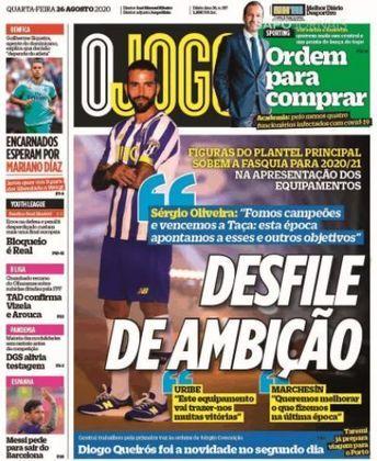 O jogo (Portugal) – Os jornais portugueses deram pouco destaque, mas não deixaram de mencionar o desejo de saída de Messi.