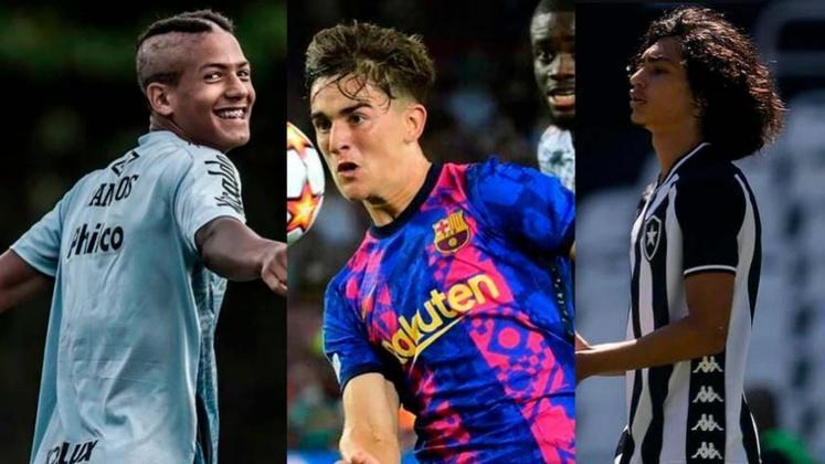 O jornal inglês 'The Guardian' publicou uma lista com 60 nomes de jogadores nascidos em 2004 (17 anos) que podem ser futuros craques. A lista conta com quatro atletas brasileiros e nomes já conhecidos do público. Confira todos os jogadores nesta galeria!