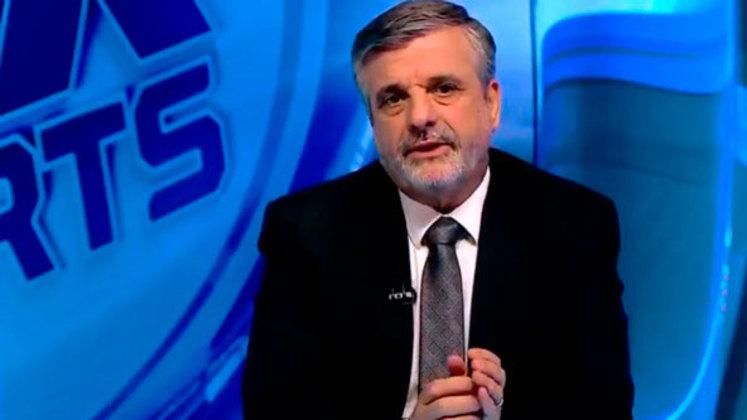 O jornalista Osvaldo Pascoal teve seu contrato renovado.
