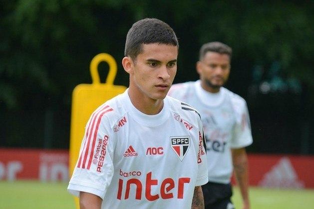 O jovem meio-campista, campeão da Copa São Paulo de 2019, tem valor estimado pelo Transfermarkt em 350 mil euros (cerca de 2,2 milhões de reais).