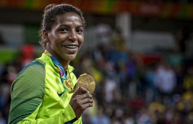 O judô é a modalidade que deu mais medalhas ao Brasil na história dos Jogos Olímpicos. Ao todo, foram 22 as vezes em que judocas do país subiram ao pódio da competição (na foto, Rafael Silva, ouro na categoria até 57kg dos Jogos do Rio de Janeiro, em 2016). Vela (18) e atletismo (16) vem na sequência da lista.