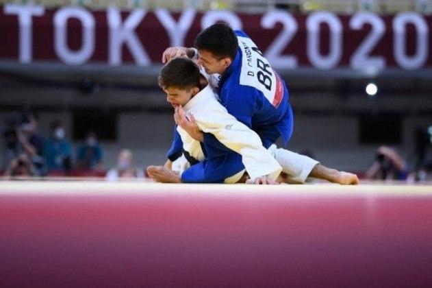O judoca Daniel Cargnin conquistou o bronze após 5 lutas difíceis.