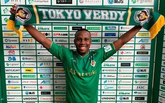 O lateral-direito Klebinho está emprestado ao Tokyo Verdy, do Japão, até o final deste ano, mesma duração de seu contrato com o Flamengo.