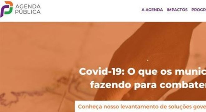 O levantamento de boas práticas dos governos municipais é realizado pela Agenda Pública