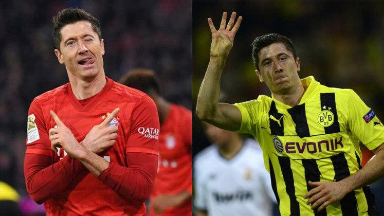 O maior goleador do clássico estará em campo: Robert Lewandowski. Ele defendeu o Dortmund e agora está no Bayern. Pelo clube amarelo, foram cinco gols no duelo. Já pelo Bayern, foram 18 gols. Ao todo, são 23 bolas nas redes para o polonês.