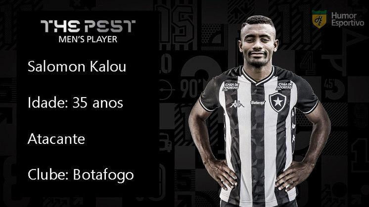 O marfinense Salomon Kalou foi mais um estrangeiro a chegar com status no Botafogo, mas não correspondeu dentro de campo