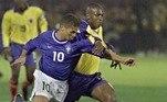 O meia Alex, que foi duas vezes campeão da Copa América pela Seleção, disputou os Jogos de 2000, em Sydney. A equipe foi eliminada nas quartas de final por Camarões.
