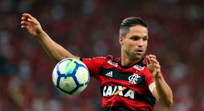 O meia Diego, do Flamengo, é um dos líderes do elenco, mesmo após perder a titularidade no ano passado.