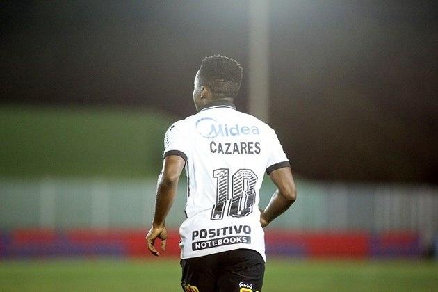 O meia equatoriano Cazares deixou o Corinthians nesta semana para defender o Fluminense, mas ele não foi o único a dizer adeus (ou até logo) ao Timão para esta temporada. Confira, na galeria a seguir, a extensa lista de jogadores que não fazem parte do elenco alvinegro para 2021