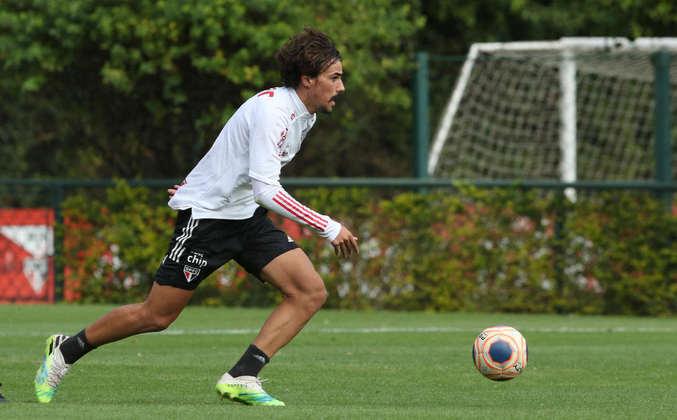 O meia Igor Gomes, que desperta a atenção de clubes europeus, é outro que está com moral no clube.