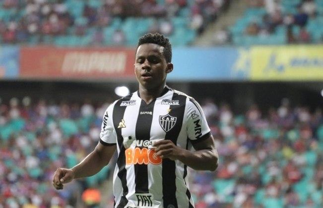 O meia Juan Cazares, de 27 anos, do Atlético-MG, foi diagnosticado com Covid-19, mas se recuperou.
