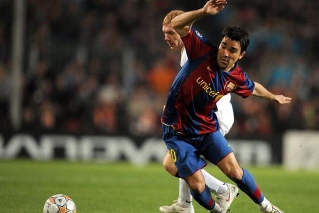 O meia luso-brasileiro Deco também tem 13 passes para gol na Champions. Ele jogou o torneio pelo Porto, Barcelona e Chelsea.