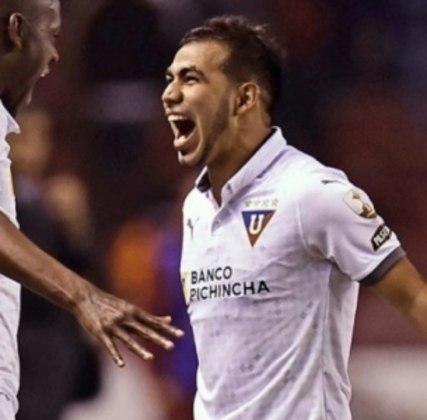 O meia Sornoza está emprestado para a LDU, do Equador, até dezembro deste ano. Seu vínculo com o Corinthians se encerra em dezembro de 2022.