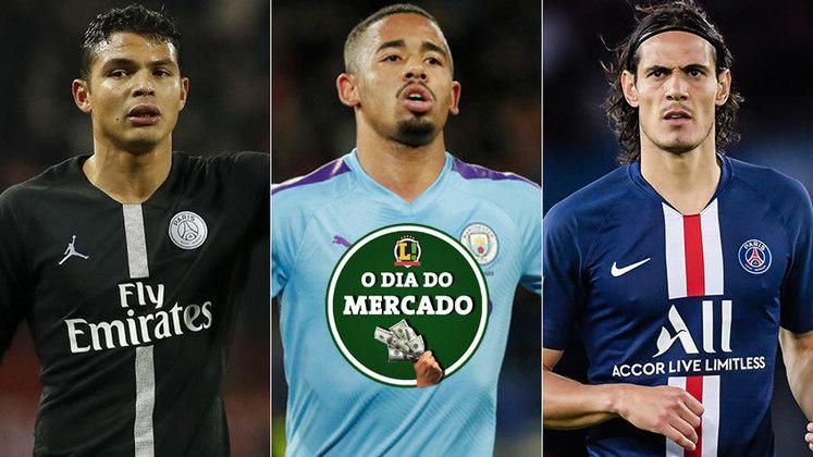 O mercado continua em polvorosa e, ao que tudo indica, os brasileiros Thiago Silva e Gabriel Jesus estão em alta e despertando interesse em outros clubes europeus. Confira tudo o que rolou na Manhã do Mercado deste domingo!