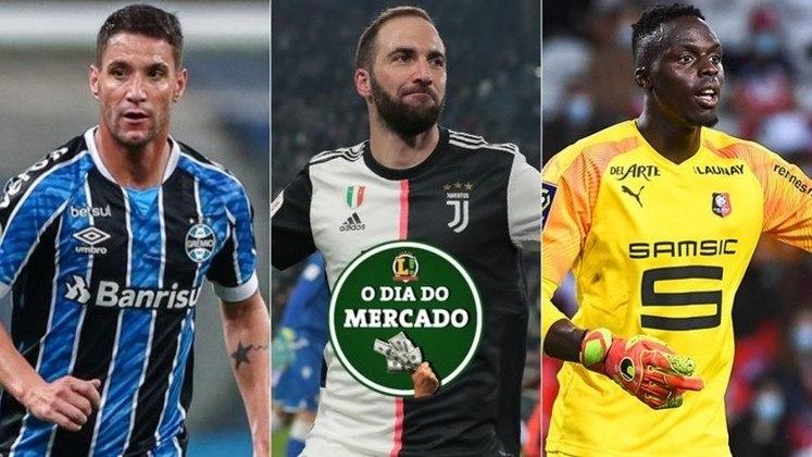 O mercado da bola foi agitado nesta quinta-feira. O Sport anunciou a contratação de Thiago Neves, a Juventus rescindiu contrato com Higuaín, Chelsea continua ativo nas contratações e está próximo de Mendy... Confira o dia do mercado!