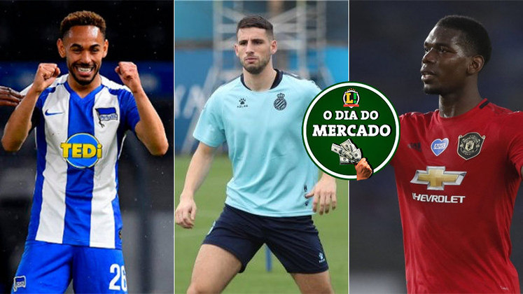 O mercado da bola foi agitado neste fim de semana. O PSG deseja a contratação de Matheus Cunha, nome de Calleri ganha força no Boca, Pogba pode deixar o United para outros reforços chegarem... Confira o dia do mercado!