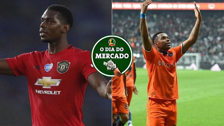 O mercado de transferências em grande parte das ligas europeias fechou na última terça-feira. Mesmo com a janela fechada, Pogba deu uma declaração polêmica sobre seu futuro. A quinta-feira foi morna no Brasil, com o Santos se aproximando de Robinho e muito mais!