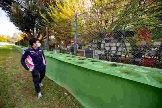 O mexicano da Racing Point tinha 4 anos na época do acidente fatal