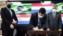 Brasil e Paraguai selam acordo para reforçar segurança na fronteira