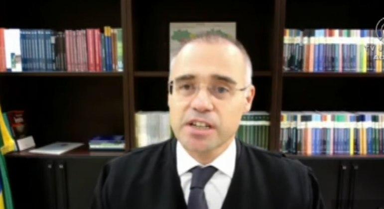 O ministro da AGU, André Mendonça