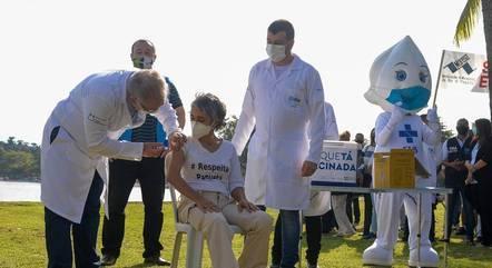 População de Paquetá recebeu vacinação em massa