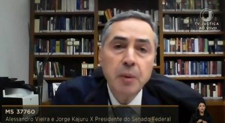 O ministro Luís Roberto Barroso, do STF