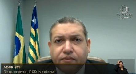 O ministro Nunes Marques, do STF