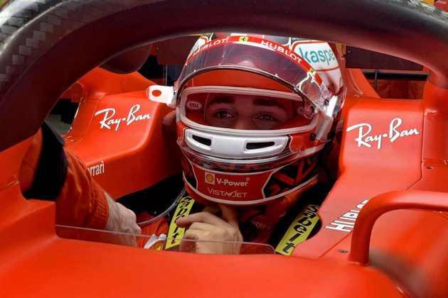 O monegasco conseguiu colocar a frágil Ferrari na quarta colocação da corrida