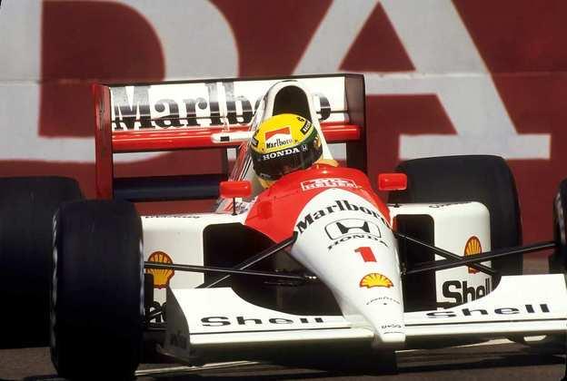 O MP4/6 deu o terceiro título mundial para Ayrton Senna em 1991 e parecia um carro pronto para brigar por mais títulos
