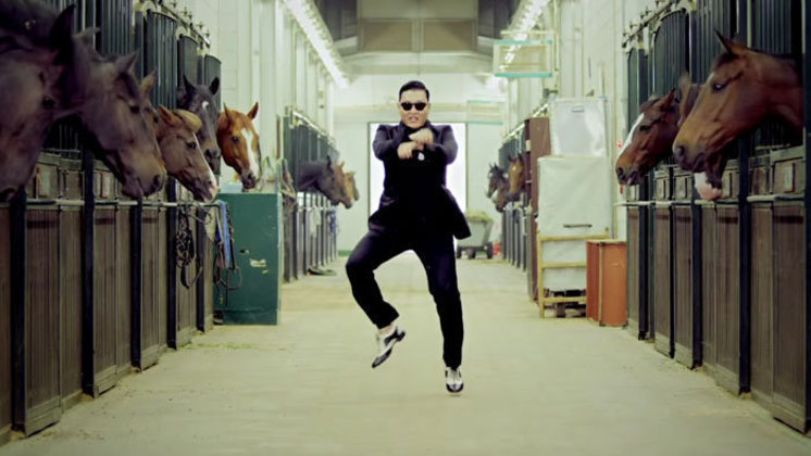 O mundo conhecia o coreano Psy e seu hit