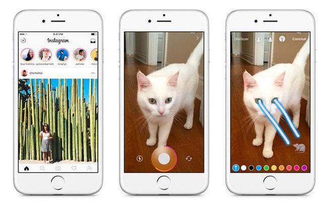 O mundo nem imaginava o que eram 'stories'. A função, tão usada atualmente nas redes sociais, só foi inventada pelo Snapchat em 2013