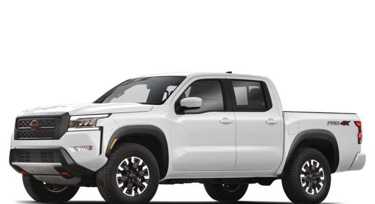 O Nissan Frontier é o primeiro off-road da nossa lista. O modelo tem uma novidade: full LED e grade ampliada. O valor estimado é na casa dos R$ 85 mil