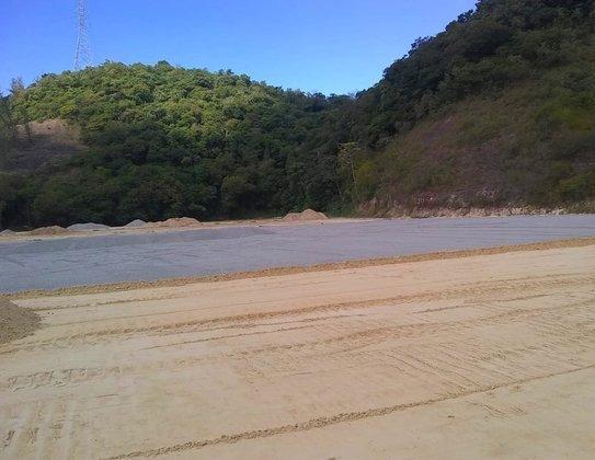 O novo CT alvinegro está sendo erguido na Zona Oeste do Rio de Janeiro