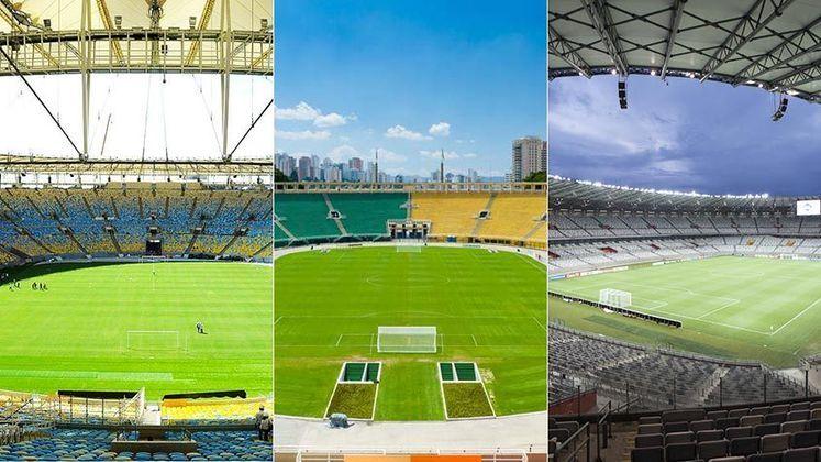 O Pacaembu comemorou aniversário de 80 anos na última segunda-feira, dia 28 de abril. Mas e os outros estádios? Apesar das reformas pelas quais passaram, quais as idades dos templos do futebol pelo Brasil? Confira!