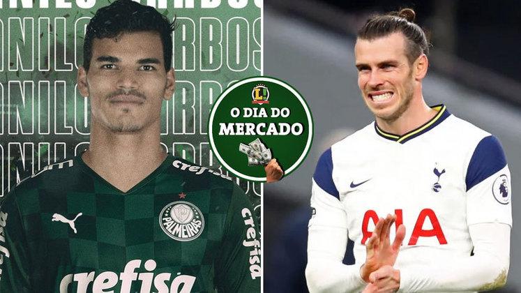 O Palmeiras anunciou mais um reforço para a temporada e se trata de um volante que estava atuando na Europa e chega por empréstimo. Gareth Bale declarou em entrevista aonde pretende jogar na próxima temporada. Tudo isso e muito mais no Dia do Mercado de terça-feira.