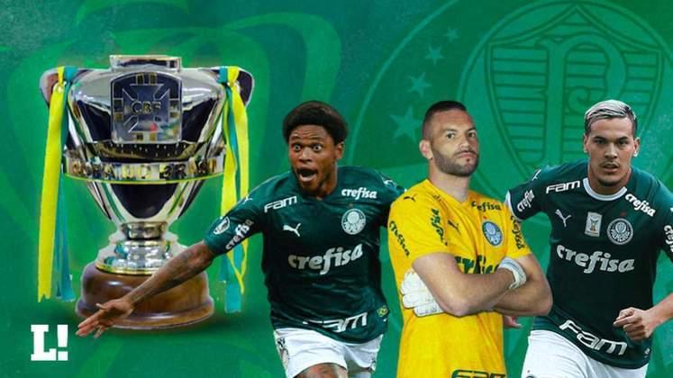O Palmeiras conquistou a Copa do Brasil 2020! É o quarto título na competição. O Verdão iniciou a disputa nas oitavas de final e caminhou até a taça conquistada neste domingo. Ao todo, foram oito jogos, contra Red Bull Bragantino, Ceará, América-MG e Grêmio. Confira os números de todos os jogadores do Verdão que disputaram a Copa do Brasil 2020: